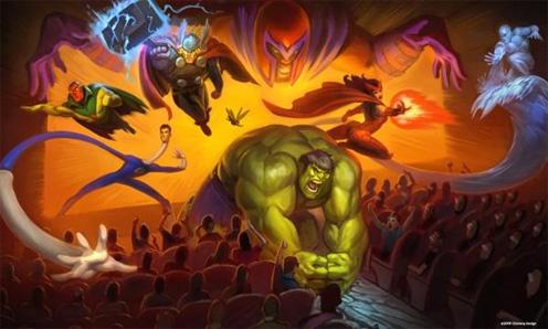 Парк развлечений Marvel