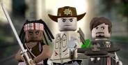 Ходячие мертвецы в стиле LEGO
