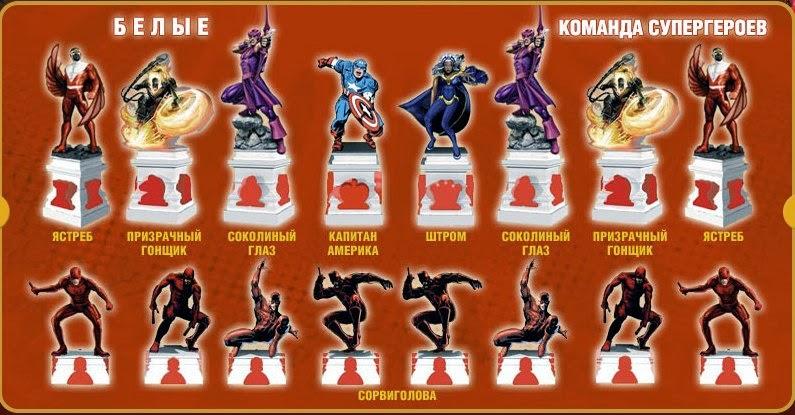 Cупергерои marvel шахматный курс