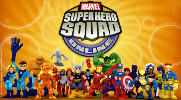 Марвел команда супергероев