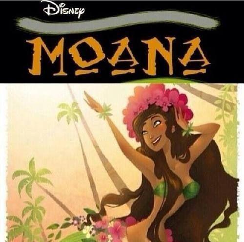 У студии Disney новая героиня - Моана