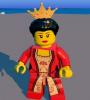 Королева из Lego Worlds