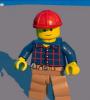 Строитель (муж.) Lego Worlds