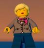Девушка-астроном Lego World