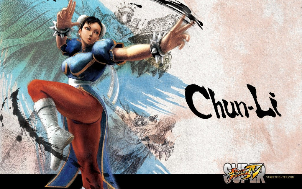 Чун Ли из Street Fighter