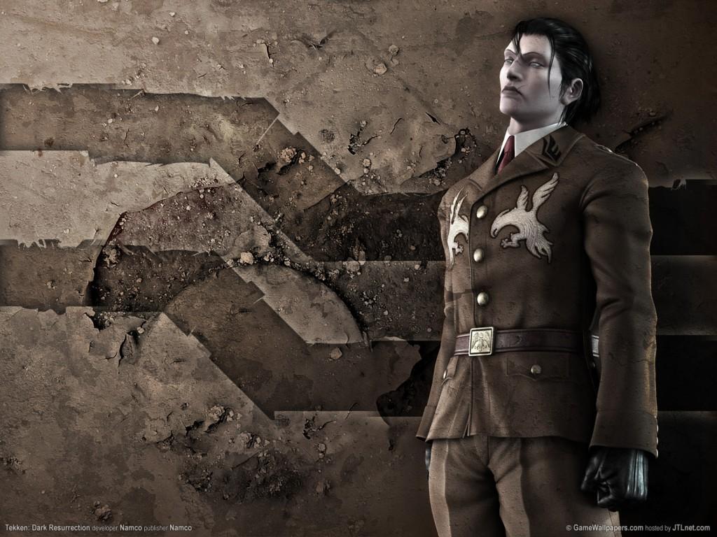 Сергей Драгунов из Tekken