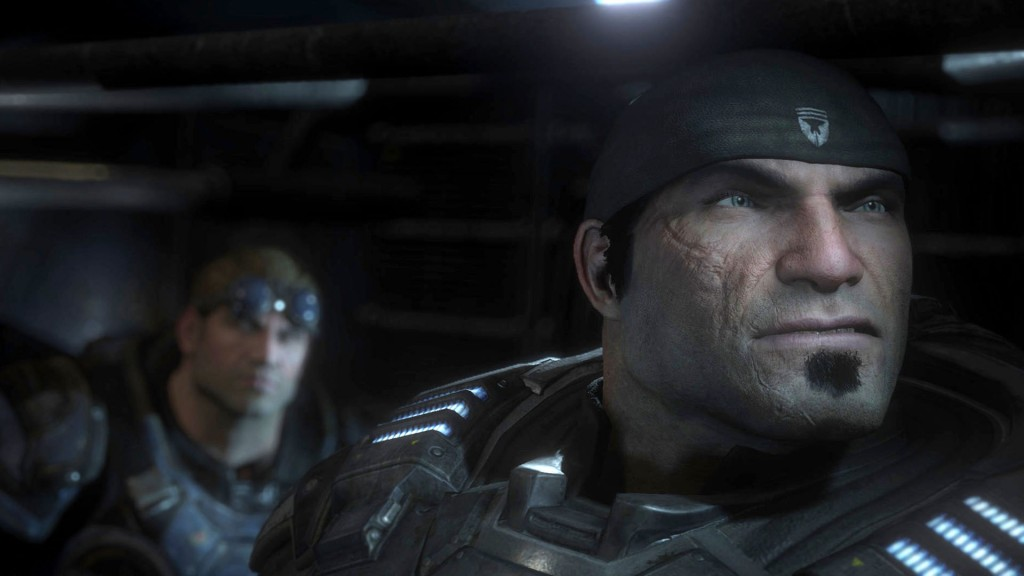 Маркус Феникс из Gears of War