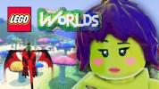 Как в LEGO Worlds создать воду, лед и лаву