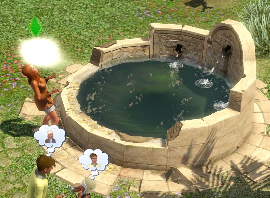 Колодец желаний в игре The Sims 3